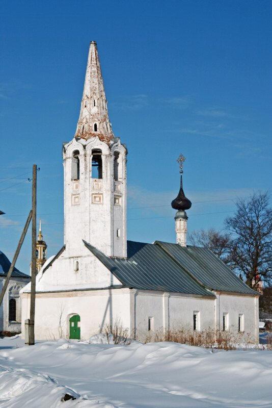 . Богоявленская церковь и Церковь ...: suzdal.org.ru/Arhitect/bogoyavlen.htm