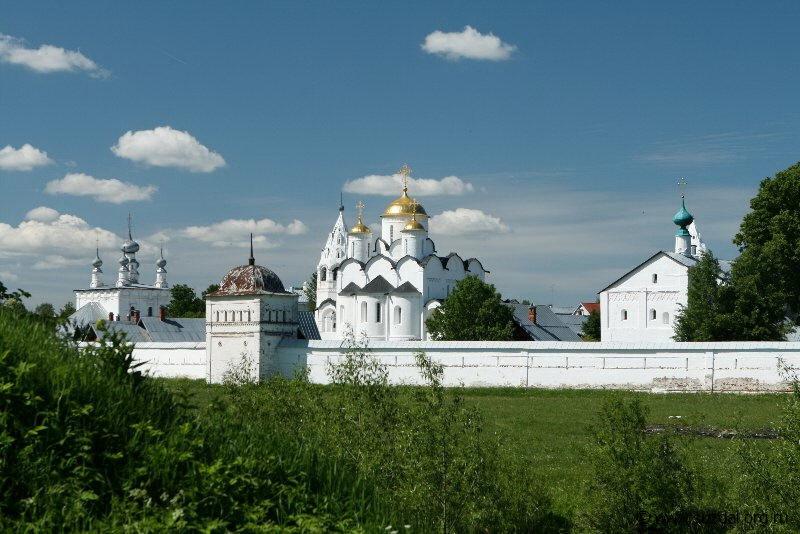 Покровский монастырь Суздаль архитектура монастыри церкви и  В xv веке мимо стен не Покровский монастырь Суздаль