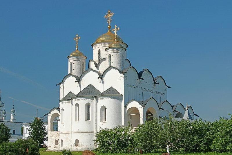 Покровский монастырь Суздаль архитектура монастыри церкви и  Покровский собор Покровского монастыря Суздаль